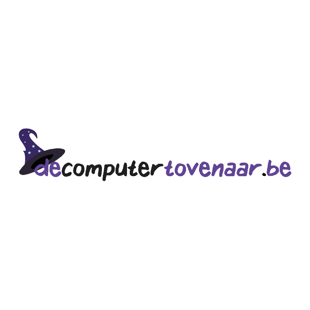 Logo de computertovenaar.be logo maken