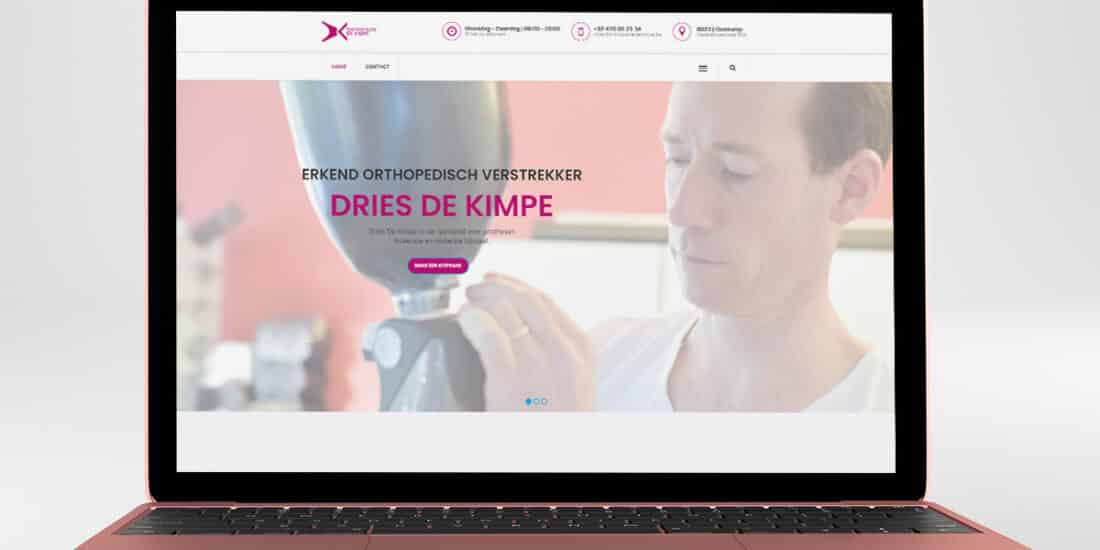 website orthopedie de kimpe