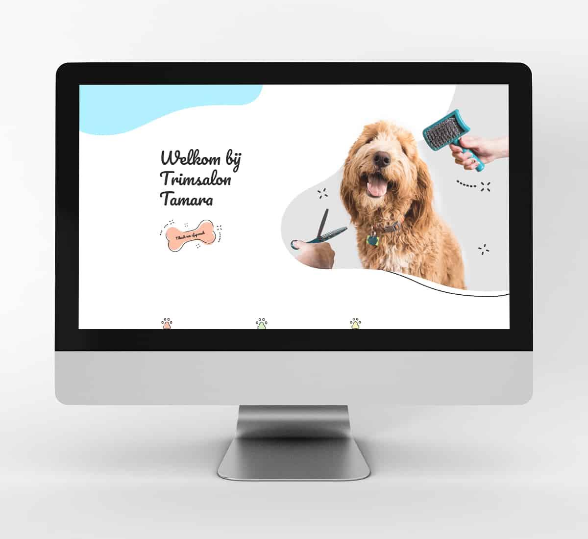 website trimsalon Tamara